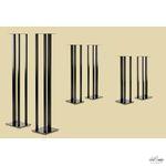 Music Tools Fultur Zwart Luidsprekerstands per paar