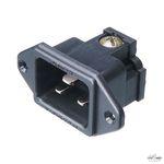 Furutech FI-33[R] 16A AC HC inlet 250V