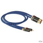 Goldkabel  Highline Cinch naar XLR Stereo MKIII kabel vanaf 1m per paar
