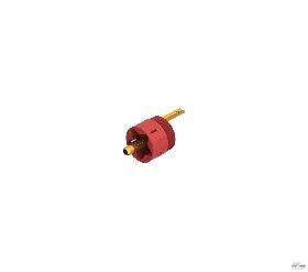 Graham Nalty GN-3 Vergulde Straight Line Contact RCA stekker