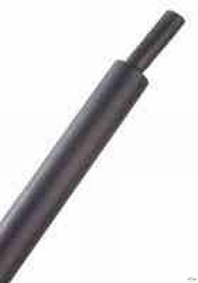 Krimpkous met lijmlaag zwart-diverse maten per 50cm